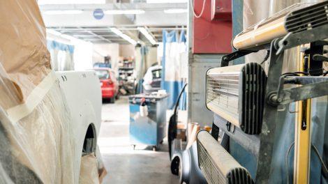 Grundierung für Auto