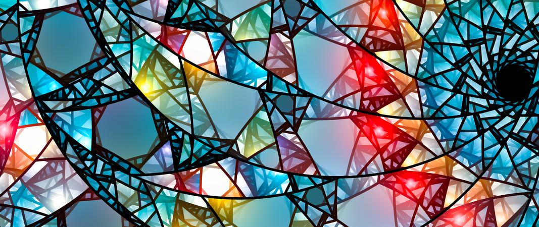 Glas Grundierung